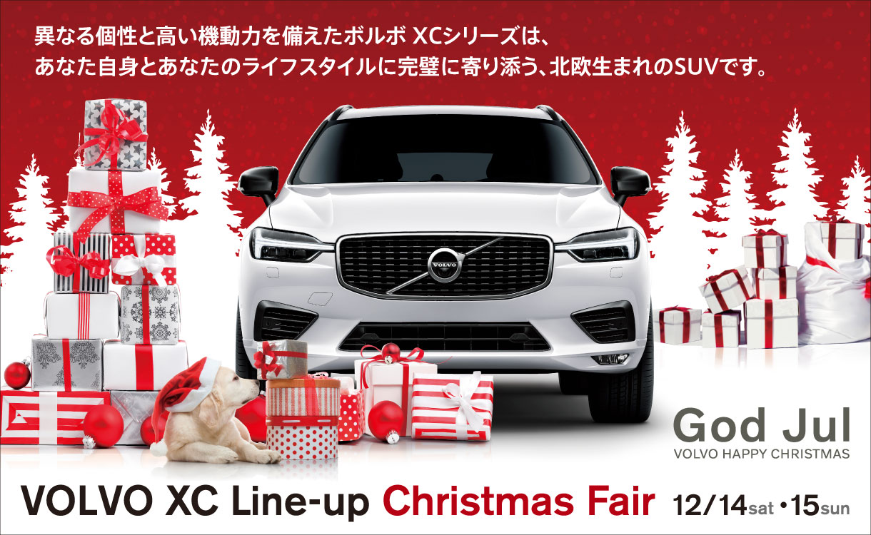 VOLVO XC Line-up Christmas Fair